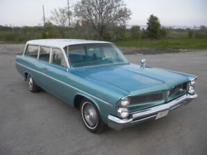 1963 Pontiac Catalina Safari -  California Surf Wagon
