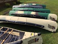 Sportspal 12 ft Pointed canoes only 34 lbs holds 500 lbs
