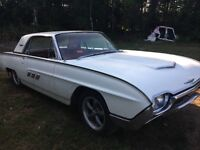 1963 Thunderbird Coupe- Reduced FROM $8500! Must Sell This Week!