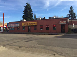 3 Unit Commercial Property on busy street for sale.