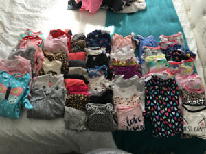 Baby girls size 12-18 assorted clothes *sold PPU