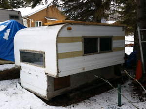 Camper et.. or storage canopy. Ice fishing shack.