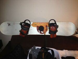 rossignol snoeboard and bindings