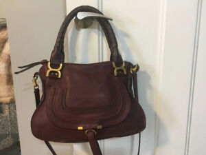 Gorgeous Chloe Marcie medium in Burgundy