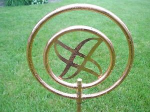 DECORATIVE ROTATING COPPER GARDEN SPRINKER $25.