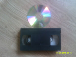 convert your old vhs home movies to dvd