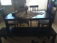 7 seats dining set (Perfect Condition). 300$ OBO