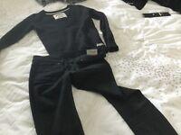 Superdry jeans jumper new