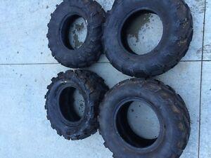 4 Quad tires