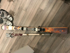 Women's Atomic Downhill Ski Package