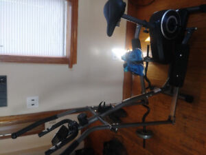 Eliptical and excersise bike