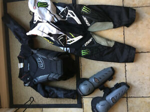 Kids bmx or motocross gear
