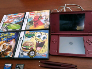Nintendo Ds XL Rouge