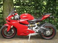 2013/13 Panigale 1199 ABS with 9798 miles FSH