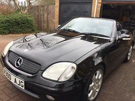 Mercedes Benz SLK230 Convertible FSH Low Mileage