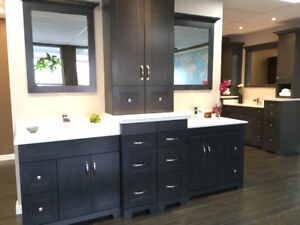 solid wood vanity cabinet, starts from only $ 373