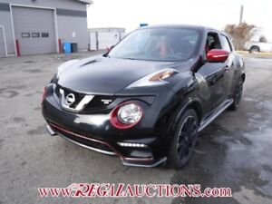2015 NISSAN JUKE NISMO RS 4D UTILITY AT 1.4L NISMO RS