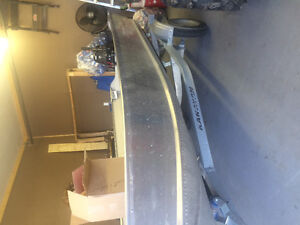 12 ft Prince Craft aluminum boat/motor/trailer for sale. Prince George British Columbia image 6