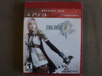 PS3 Final Fantasy XIII Greatest Hits Edition Brand New For Sale