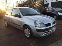 2005 Renault Clio 1.2 Rush 9 Months Mot Service History 2 Owners
