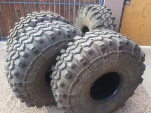 Super Swamper Tires 14/42-15LT, IROK Bias Ply Tire