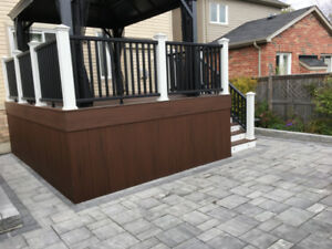Deck, Fence, and Patio