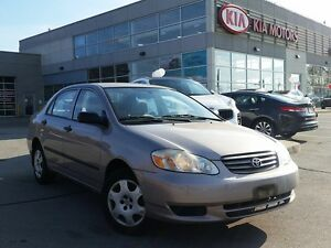 2003 Toyota Corolla LE | LOW KMS | 1 OWNER | AS-IS