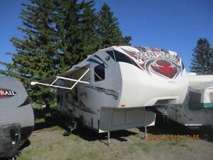 2012 Keystone Raptor 297SE, Toy Hauler, Cargo
