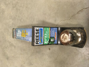 Towing Ball and Reese Mount 1   7/8 in