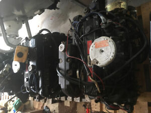 Twin Mercruiser 3.7L engines and legs
