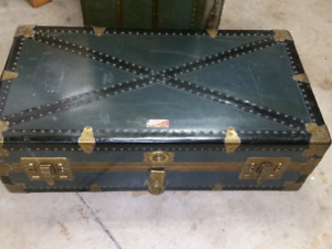 2 Vintage trunks circa. Early 1900s..mint condition!