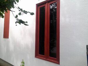 2 fenêtres en cèdre