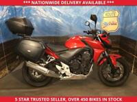 HONDA CB500 CB 500 F-A ABS MODEL FULL LUGGAGE LOW MILES 2014 64