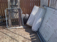 4ft chain link fence 60ft long