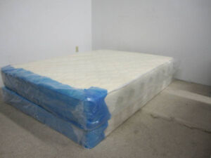 Brand New Queen mattress & box $199(pick up)/$219-free Delivery