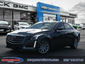2016 Cadillac CTS 2.0L  - Certified - Leather Seats - $231.80 B/