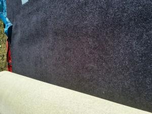 Show carpet in bag 10' x 50' black