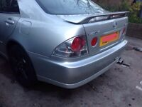 Lexus is200 silver 1c0 rear bumper 98-05 breaking spares can post is 200 is300