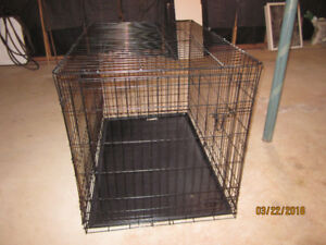 DOG CRATE-NEW EXTRA LARGE-FOLD & CARRY