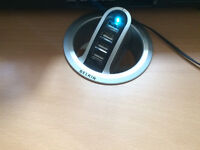 BELKIN FRONT-ACCESS IN-DESK USB HUB