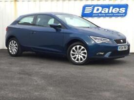 2014 Seat Leon 1.6 TDI SE 3dr [Technology Pack] 3 door Hatchback