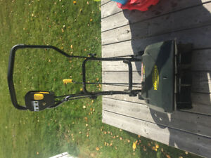 Electric snow thrower - sold
