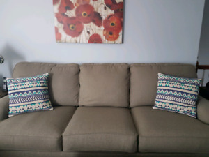 For Sale Sofa Oversized Chair and Ottoman