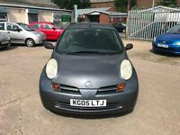 Nissan Micra 1.2 16v S ~ 2005 ~ Long Mot ~ 2 Keys ~ Ideal Town Car ~