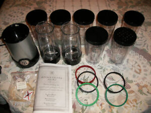 BELLA CUCINA Blender Set with Extra Cups