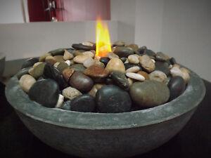 Concrete fire bowls Cambridge Kitchener Area image 1