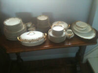 PRICE REDUCED LIMOGE CHINA UC MADE IN FRANCE