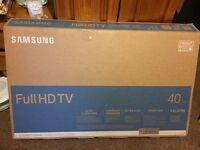 """Samsung 40"""" FULL HD ULTRA SLIM BRAND NEW TV *read description*"""