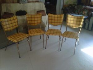 Retro 50's kitchen chairs