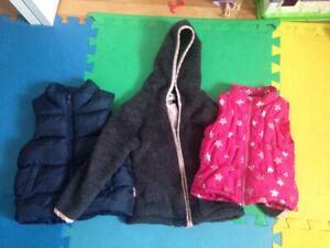 coat and vests 3T